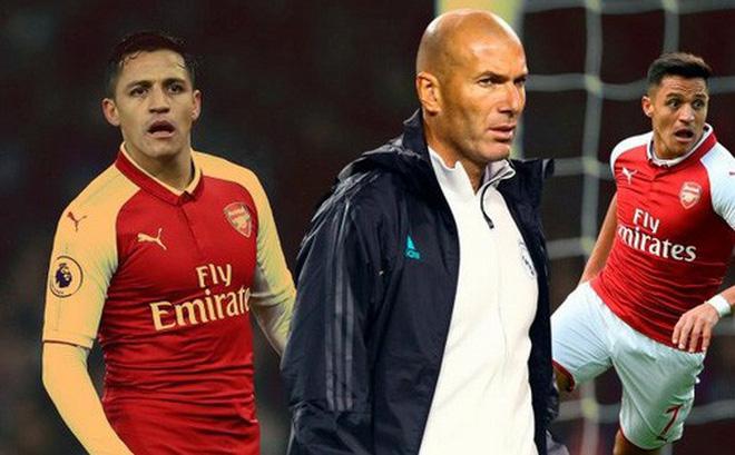 HLV Zidane từ chối mua Alexis Sanchez với giá rẻ mạt từ Arsenal khiến fan ngã ngửa