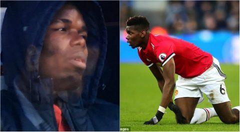 CHÙM ẢNH: Thi đấu với thái độ hời hợt, Pogba khóc mếu khi bị Mourinho thay ra sân