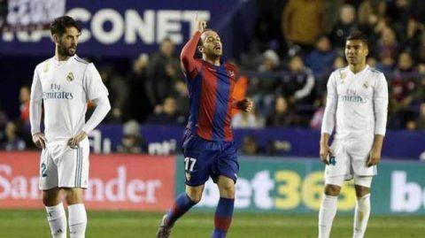 Kết quả Levante vs Real Madrid: Rượt đuổi siêu kịch tính, sai lầm phút 89