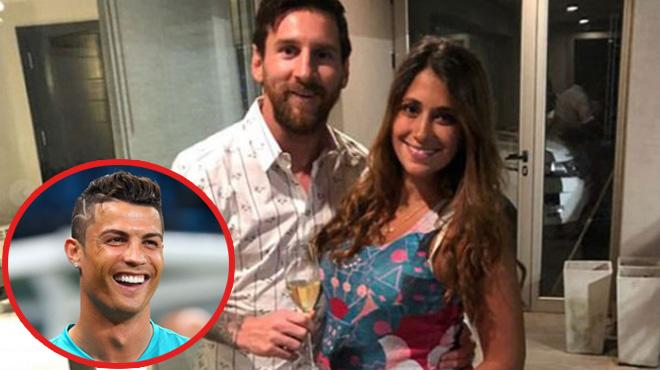 """Fan sốc nặng khi Messi đặt tên con trai thứ 3 khá giống tên """"đại kình địch"""" Ronaldo"""