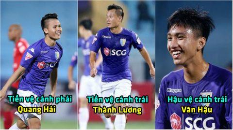 Chẳng cần ngoại binh, với siêu đội hình toàn hàng Nội này, Hà Nội FC vẫn dư sức vô địch V-League 2018