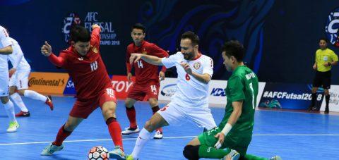 Futsal Thái Lan thua sốc, Việt Nam coi chừng bị loại