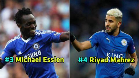 Top 15 cầu thủ đến từ 'lục địa đen' tỏa sáng rực rỡ nhất tại Premier League: Số 1 được cả thế giới yêu mến