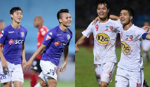 Giật mình với số phút thi đấu của cầu thủ U23 Việt Nam ở V.League 2017