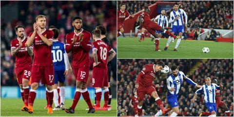 """""""Chẳng thèm"""" ghi bàn, Liverpool vẫn hiên ngang cầm vé đi tiếp vì lợi thế quá lớn ở trận lượt đi"""