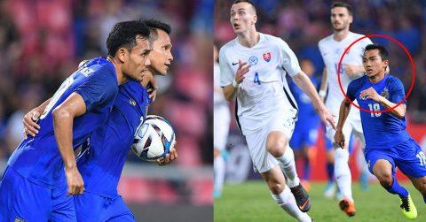 Chơi như thể trận đấu cuối cùng, Thái Lan giành kết quả không tưởng trước đội thuộc top 30 thế giới