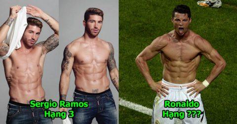 TOP 10 siêu sao sở hữu body rực lửa chẳng kém gì anh hùng Marvel: Ronaldo có còn vô đối?