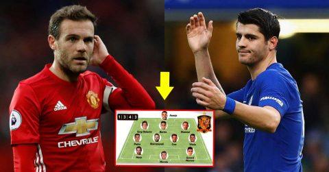 Đội hình siêu sao tài năng chẳng kém ai nhưng bị Tây Ban Nha hắt hủi: Xót xa nhất cặp tiền vệ trung tâm