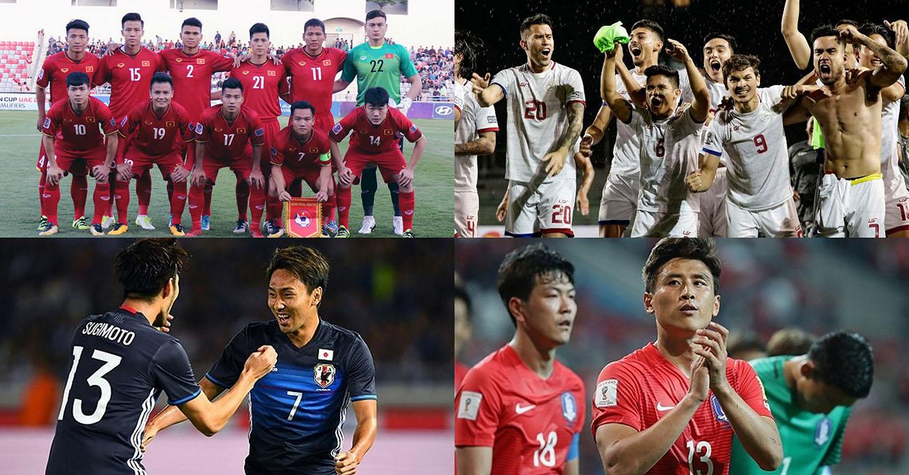 Xác định đầy đủ 24 cái tên sẽ góp mặt tại VCK Asian Cup 2019: 3 đại diện ĐNÁ sánh vai với các cường quốc