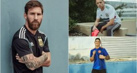 """Adidas CHÍNH THỨC tung hàng loạt áo đấu đẹp mê hồn ở World Cup: Argentina lần đầu diện """"cây đen"""", kết nhất cây của Đức"""