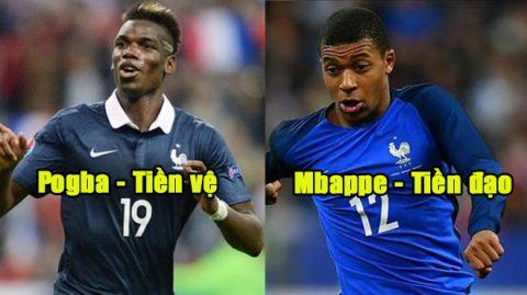 """ĐT Pháp CHÍNH THỨC công bố danh sách 24 cầu thủ được triệu tập, sẵn sàng cuốn phăng tất cả trên đường vô địch WC 2018: Kẻ """"hạ sát"""" MU góp mặt"""