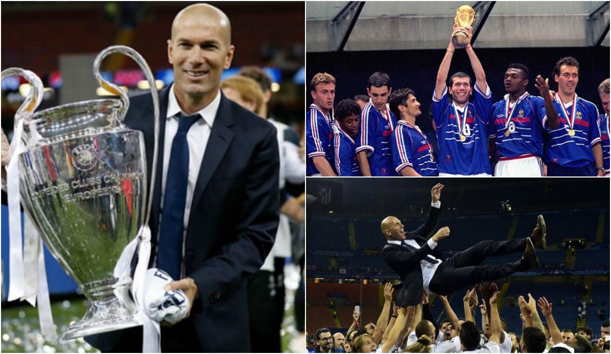 Top 4 kỷ lục vĩ đại của Zidane thách thức mọi cầu thủ và HLV: Chắc chẳng ai dám mơ mộng!
