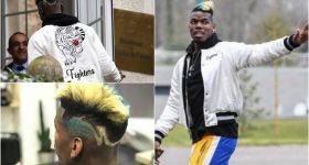 """CHÙM ẢNH: Cận cảnh bộ tóc chất như """"Siêu xay da"""" của Pogba khi hội quân cùng tuyển Pháp khiến fan sửng sốt"""