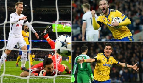 """Gà trống hóa """"Gà mờ""""; cặp song sát giúp Juventus ngược dòng """"đánh sập"""" Wembley đoạt vé tứ kết"""