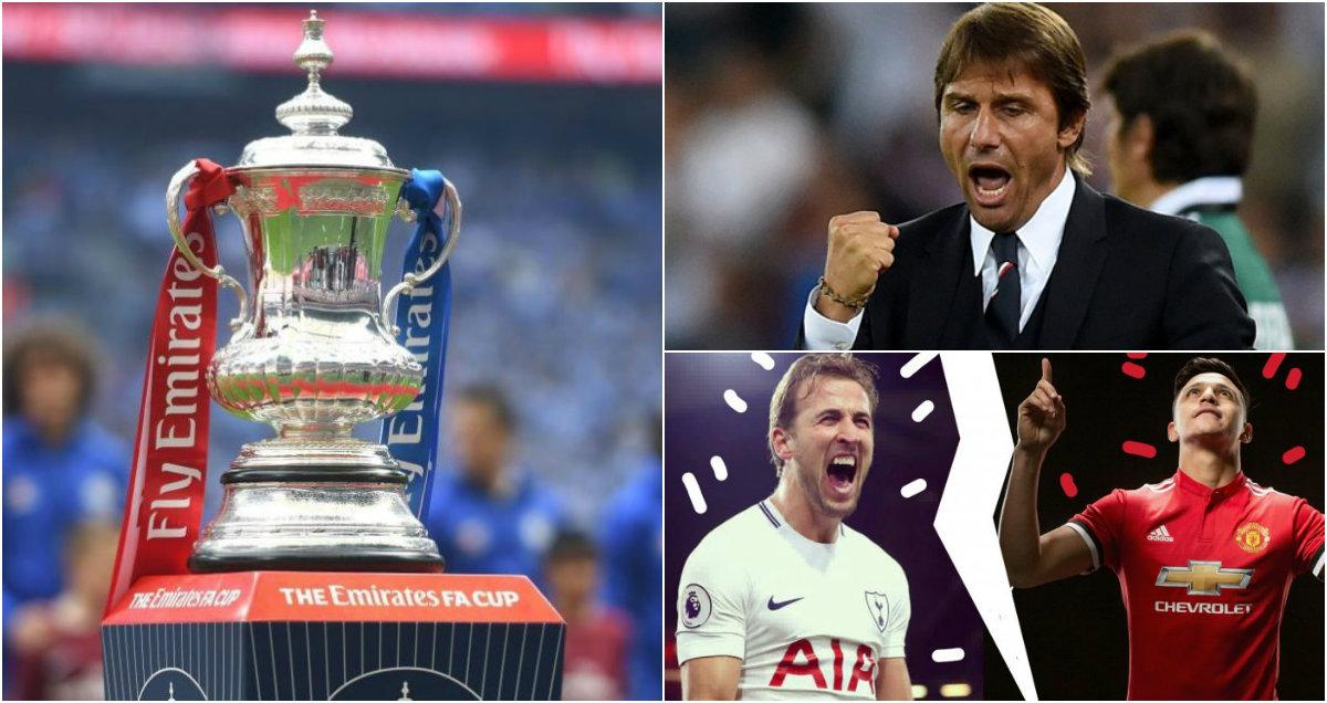 """Bốc thăm bán kết FA Cup: Chelsea đi dạo nhìn """"Quỷ đá Gà"""""""
