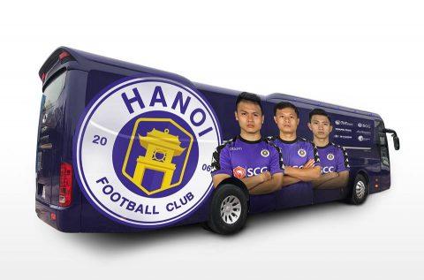 Quyết khẳng định vị thế chuyên nghiệp nhất Việt nam, HÀ Nội FC vung tiền tỷ mua siêu xe xịn như M.U, Bayern khiến cả V.league lác mắt