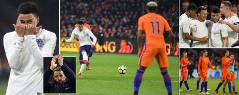 Thần tài Lingard lại ghi bàn, Tam Sư dạy cho Hà Lan một bài học ngay trên sân của đối thủ