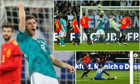 Kết quả Đức vs Tây Ban Nha: Kì phùng địch thủ, đẳng cấp nhà Vua