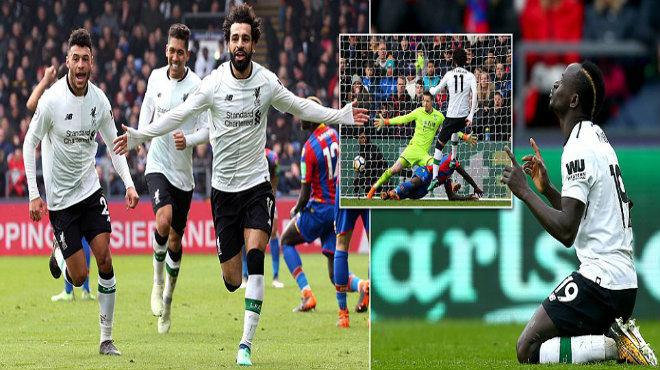 Messi Ai Cập cân bằng kỷ lục của Ronaldo, Liverpool ngược dòng ấn tượng ngay trên sân của Crystal Palace