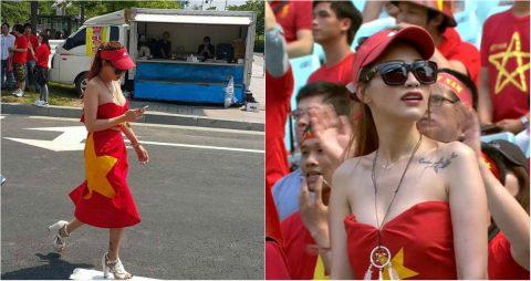 Chỉ vì danh tiếng, những cô gái này sẵn sàng lấy ĐT Việt Nam ra làm cái cớ để khoe hàng khiến ai cũng khinh bỉ