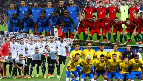 """Top 5 ƯCV vô địch World Cup 2018 với dàn sao """"chất lừ"""" từ đội hình xuất phát cho đến dự bị: Số 1 quá chất!"""