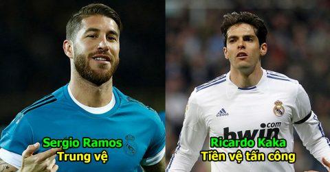 Đội hình 'trai đẹp' nhất lịch sử của Real Madrid, hàng tiền vệ hoàn hảo đến từng milimet