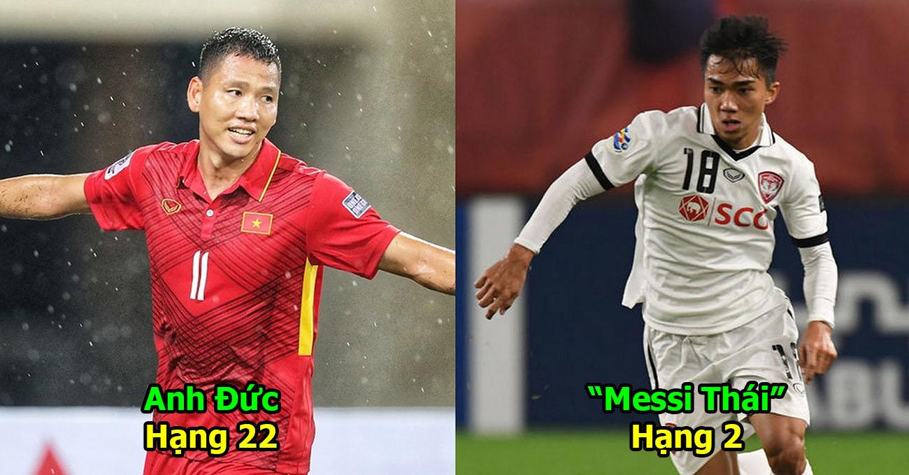 Top 25 cầu thủ hay nhất ĐNÁ: Việt Nam có 4 đại diện, Văn Quyết cho sao Ngoại hạng Anh hít khói!
