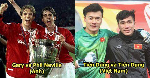 TOP 15 cặp anh em nổi tiếng và tài năng của bóng đá thế giới: Vượt mặt cả châu Á, 1 đại diện của Việt Nam được vinh danh