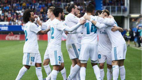Kết quả Eibar vs Real Madrid: Cú đúp của siêu sao Ronaldo, vỡ òa cuối trận