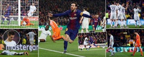 Không chịu kém cạnh Ronaldo, Messi cũng lập kỉ lục siêu đẳng tại Champions League