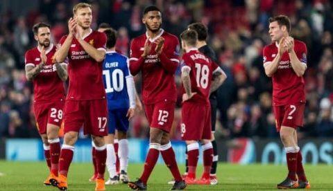 Hòa nhẹ Porto, Liverpool thẳng tiến vào tứ kết Champions League