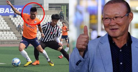 Cựu tuyển thủ U23 tỏa sáng trên đất Hàn, ĐTVN sắp có trung phong lý tưởng?
