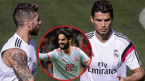 """""""Phù thủy"""" hạ Argentina: Ronaldo và Ramos nóng mắt, đòi """"tống cổ"""" khỏi Real"""