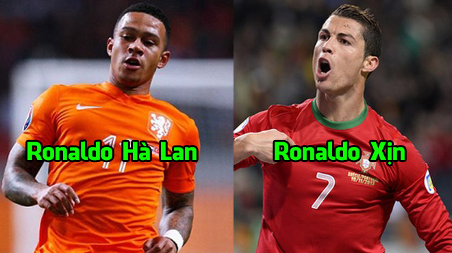 Đội hình kết hợp cuộc thư hùng giữa Bồ Đào Nha vs Hà Lan: 3 phiên bản Ronaldo trên hàng công
