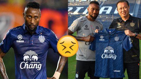 """Không chỉ bị đội bóng Thái Lan thanh lý hợp đồng sớm, Hoàng Vũ Samson còn phải nhận """"án tử"""" này khi trở lại Hà Nội FC, quá xót xa!"""