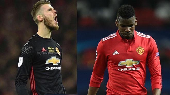 """Chuyển động MU: De Gea ra tay giúp Mourinho, Pogba sắp bị tống cổ vì """"láo"""""""