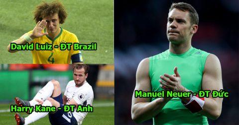 Chỉ vì những chấn thương tàn nhẫn, World Cup 2018 sẽ phải chia tay với 20 siêu sao lẫy lừng này đây