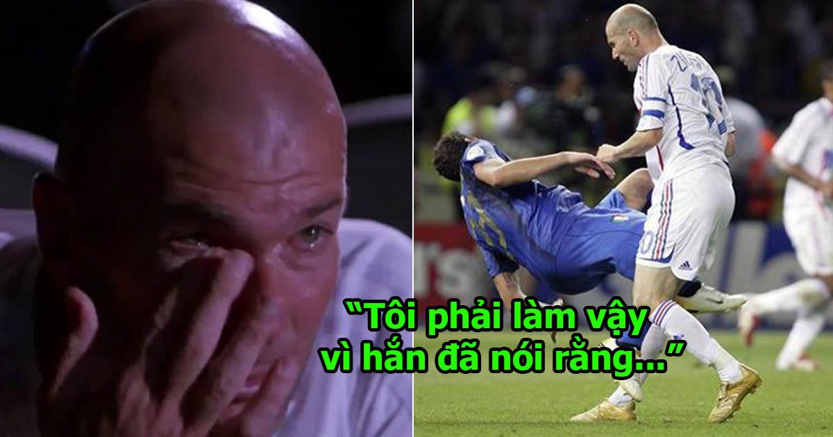 12 năm trôi qua, Zidane bất ngờ tiết lộ sự thật bất ngờ đằng sau cú húc đầu làm đảo lộn lịch sử World Cup