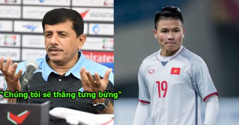 Phát biểu gây shock của HLV Jordan trước trận đấu với Việt Nam
