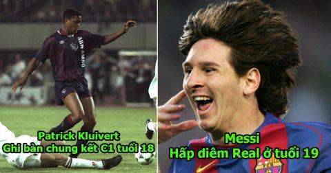 Nhìn thế hệ Mbappe, Rashford so với thành tích của 22 siêu thần đồng trước kia mà nản lòng: Messi và Kluivert quá khủng khiếp