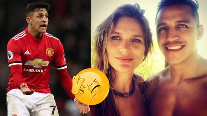 Chỉ còn vài giờ nữa là đến đại chiến Liverpool, Sanchez lại phải nhận hung tin từ bạn gái khiến fan vô cùng lo lắng