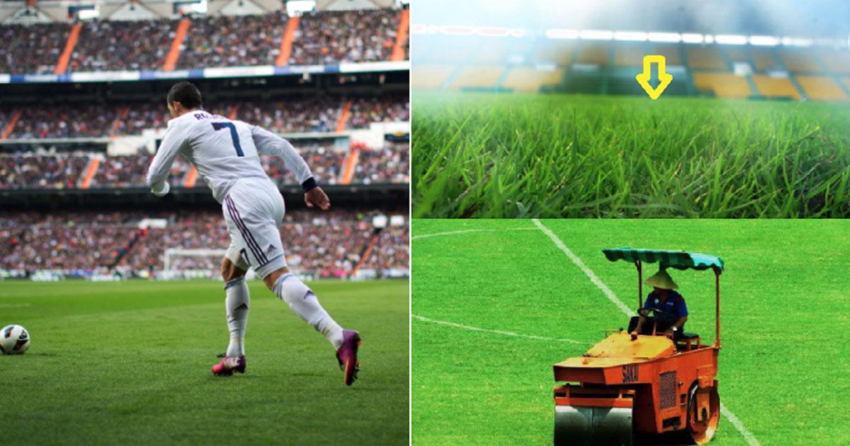 Đây là CLB duy nhất ở Việt Nam có mặt cỏ đẹp như Bernabeu của Real khiến cả V-League thèm thuồng