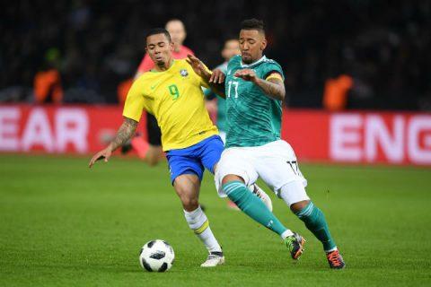Kết quả Đức vs Brazil: Đôi công rực lửa, SAO Man City lóe sáng