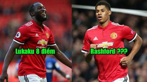 Chấm điểm MU 2-1 Liverpool: Rashford là số 2 không ai dám nhận là số 1!