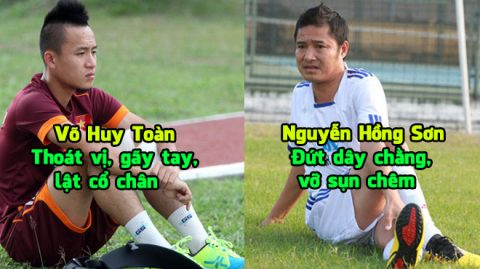 Điểm mặt 6 cầu thủ Việt Nam tài năng nhưng bị chấn thương hủy hoại cả sự nghiệp khiến NHM xót xa: Tuấn Anh vẫn còn may chán!
