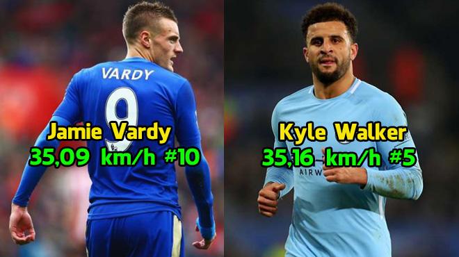 """Top 10 """"con ma tốc độ"""" của NHA mùa này: Man City góp mặt 2 cái tên, sốc nặng với hòn đá tảng của Chelsea"""