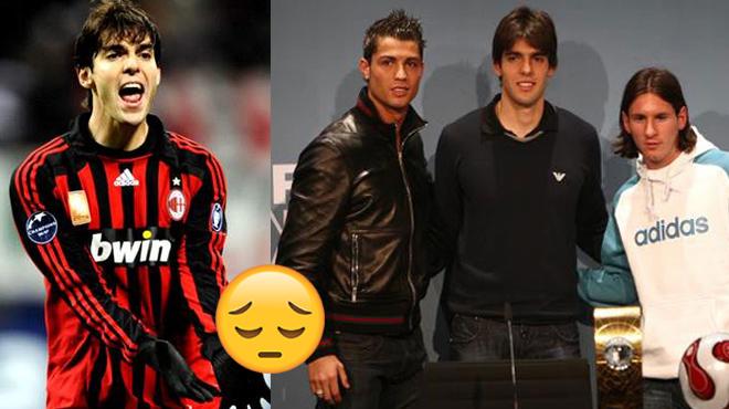 Xót xa trước tình cảnh hiện tại của thiên thần Kaka – Người đã từng khiến Ronaldo và Messi gục ngã trong cuộc đua QBV 2007