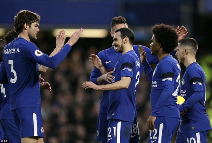 Willian tỏa sáng, Chelsea nhọc nhằn vượt ải Crystal Palace phả hơi nóng vào Top 4