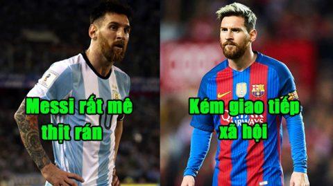 10 sự thật cực kỳ thú vị về Lionel Messi mà fan ruột chưa chắc đã biết: Giao tiếp kém, gia nhập Barca bằng quả cam
