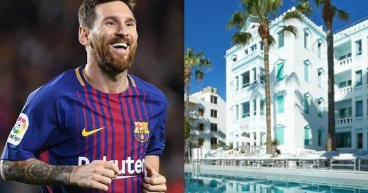 """Mê mẩn với vẻ """"sang chảnh"""" của khách sạn mới nhất do Messi làm chủ: Quá đẹp, quá chất!"""